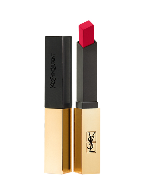 YSL slim lipstick gold base with black cap