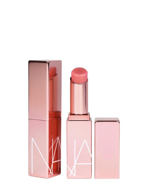 NARS lipstick in rose gold finish